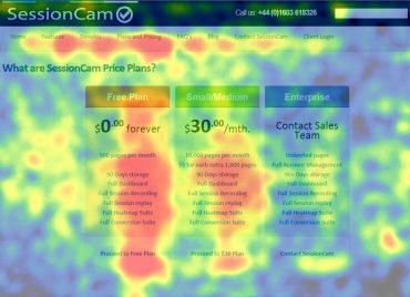 Hvor kigger de besøgende på mit website